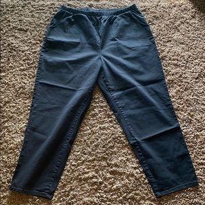 D&CO Denim + Company Black Pants